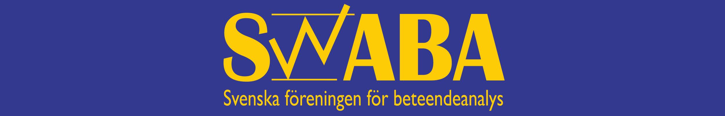 SWABA – Svenska Föreningen för Beteendeanalys